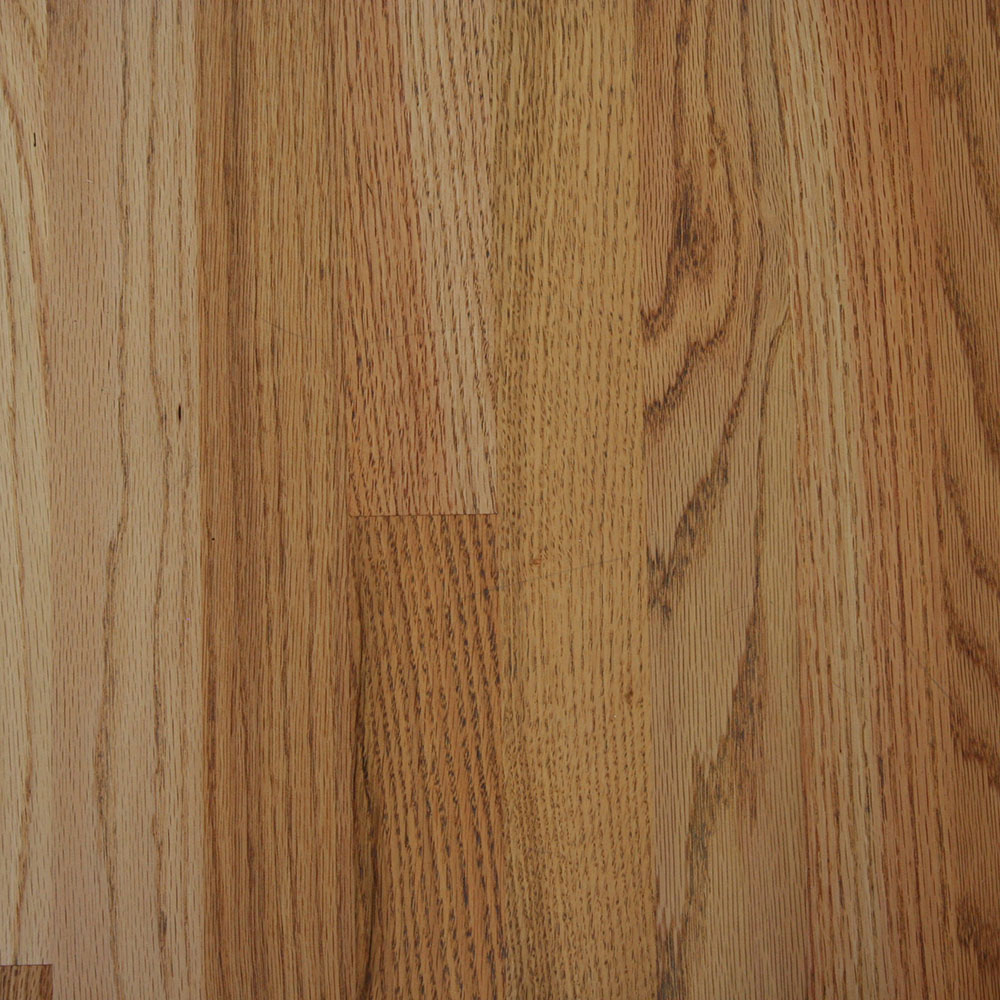 #1 Common Red Oak - The middle grade, an economical choice in a wider board.
