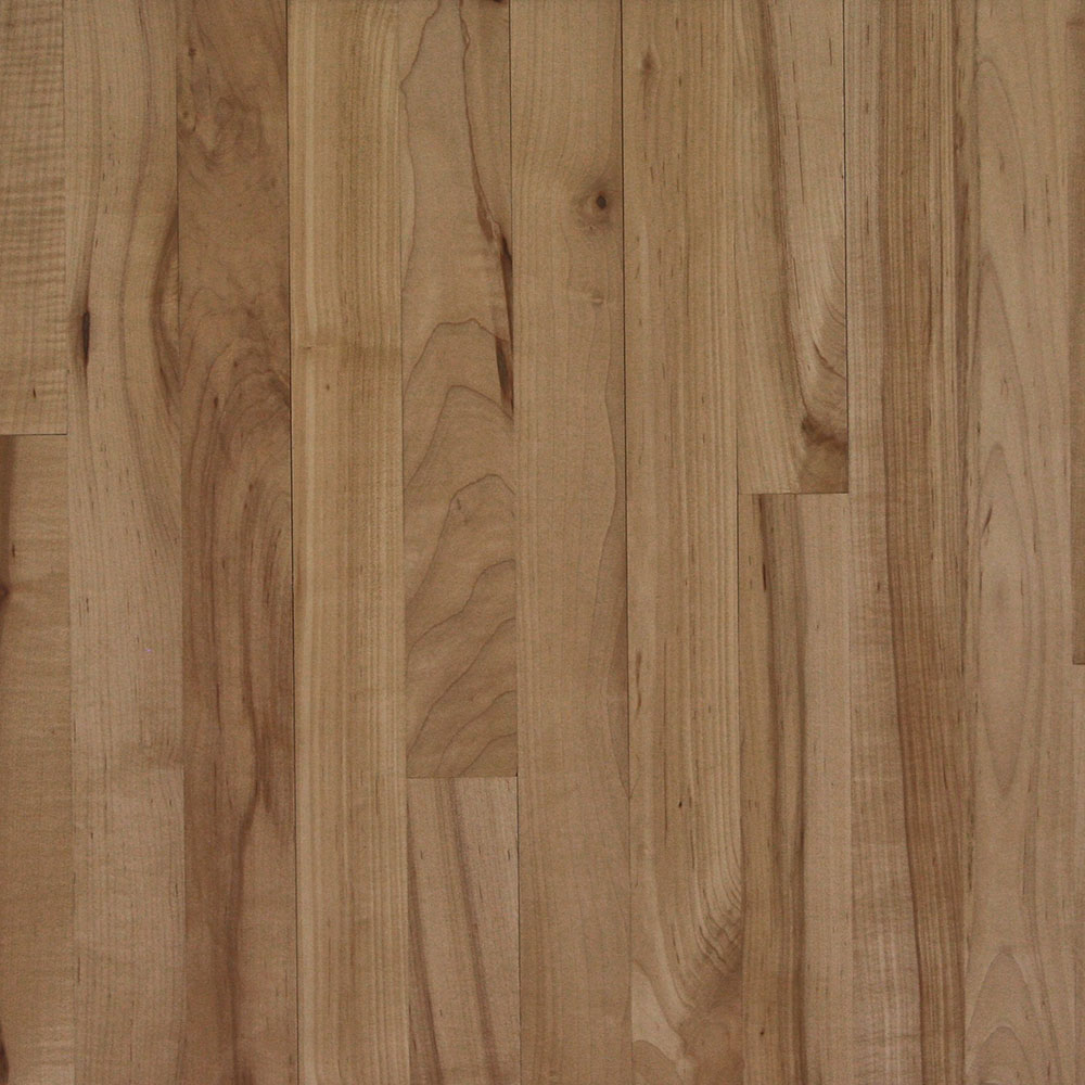 3rd Grade Maple - The lowest grade of maple, with wide color variations.