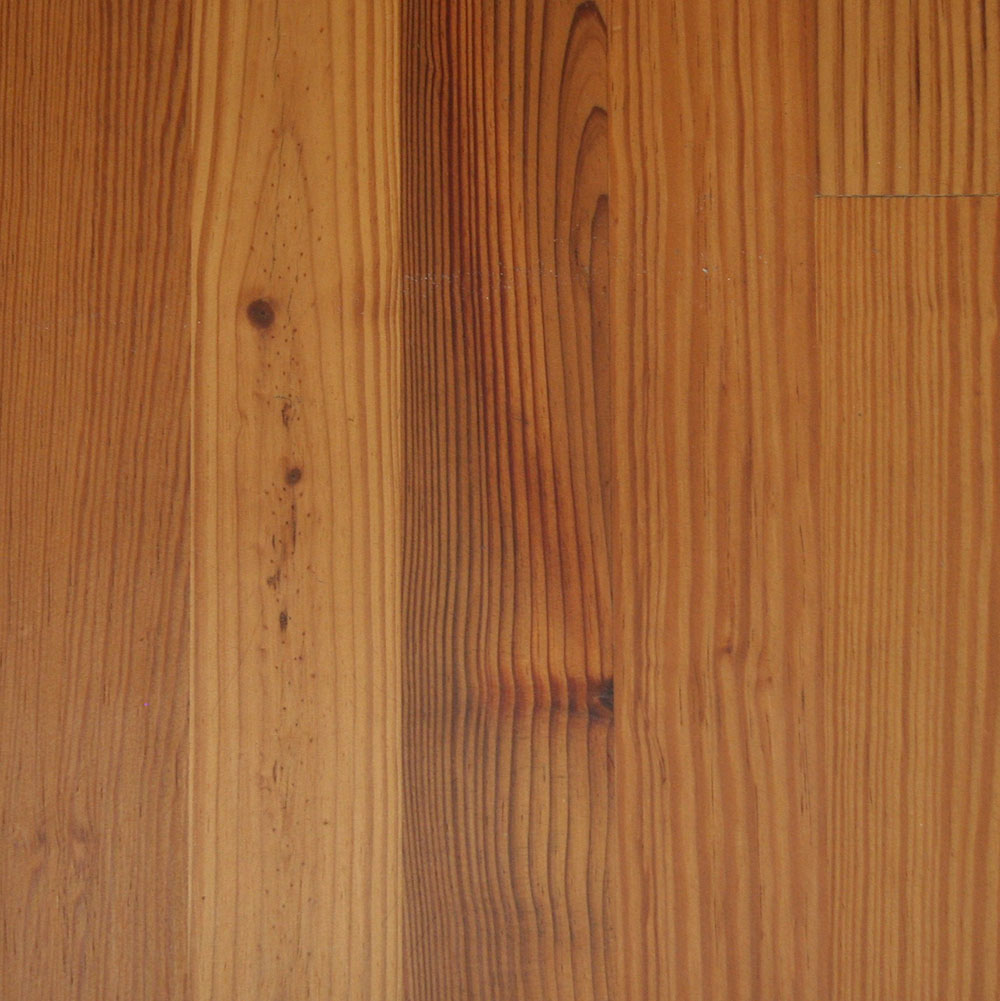 Farmhouse Grade Antique Heart Pine - An economical antique long-leaf pine.
