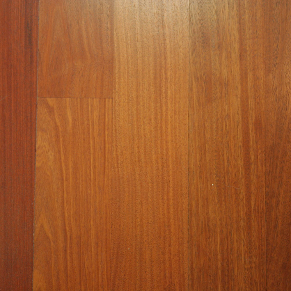Santos Mahogany - A popular tropical specie with an interesting pinkish-red tone.