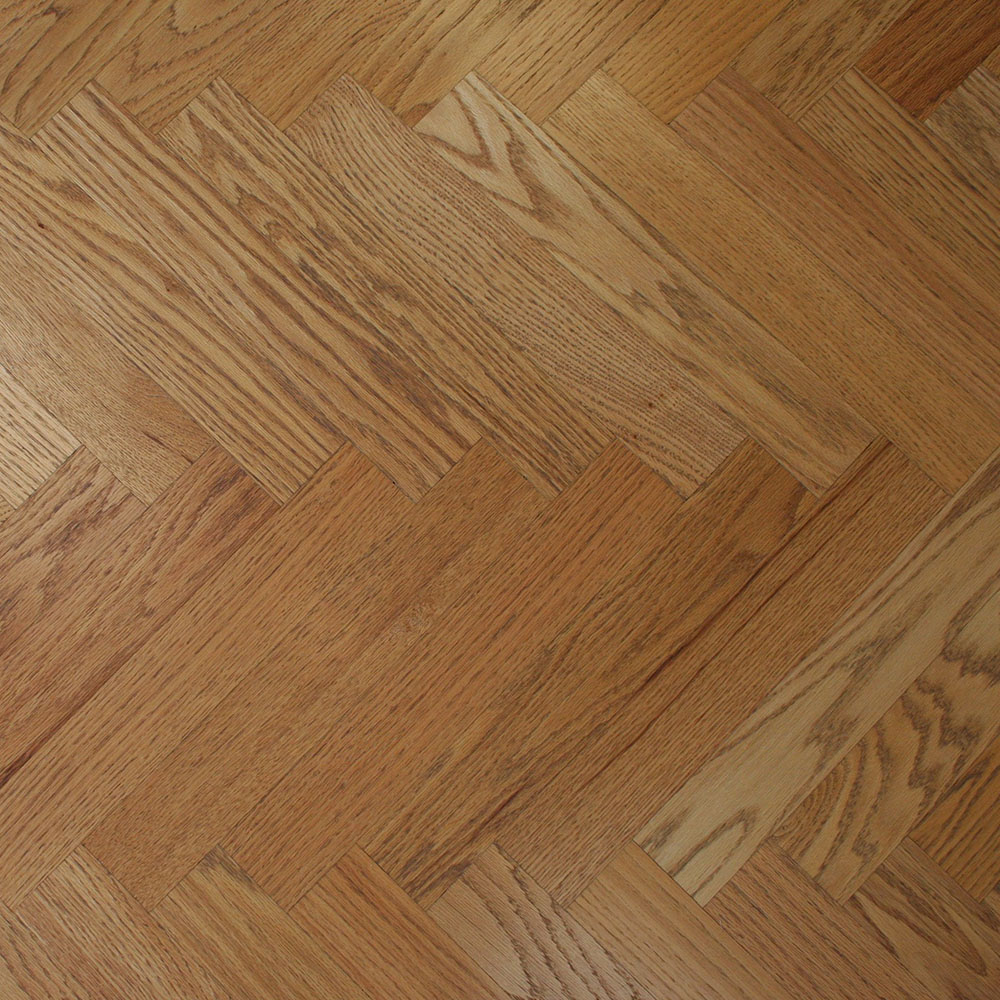Select & Better Red Oak Herringbone - What's old is new again.