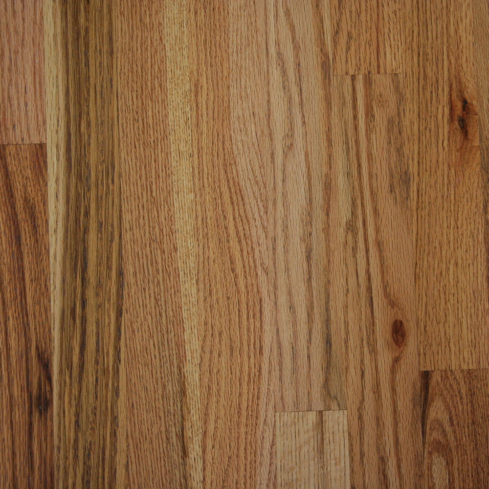 #2 Common Red Oak - The least expensive choice, in generally shorter lengths.