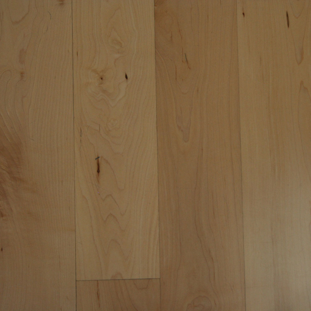 First Grade Maple - Limited color variation for a very white appearance.