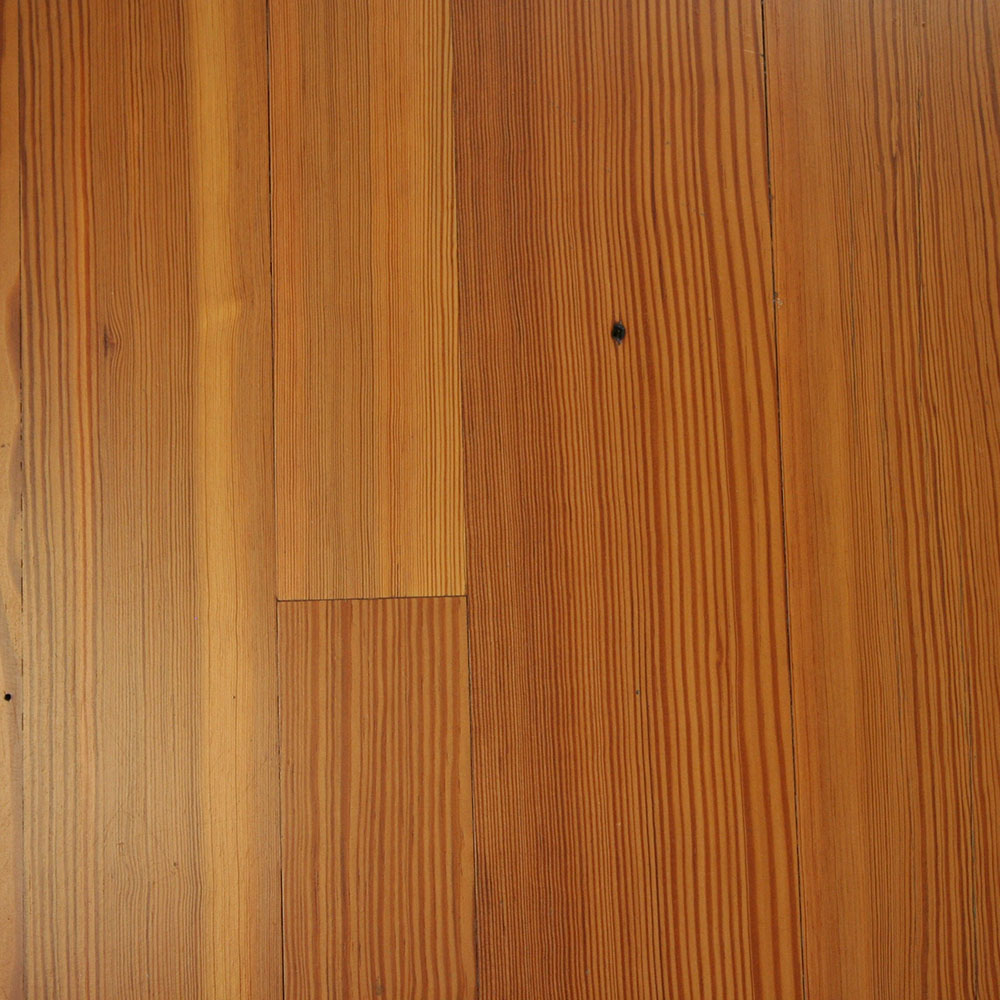 Select Grade Antique Heart Pine - A remanufactured product with many variations that offer a Williamsburg-style character.