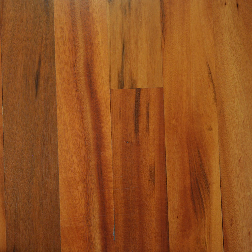 Tigerwood - An interesting orange-toned tropical with black accents.