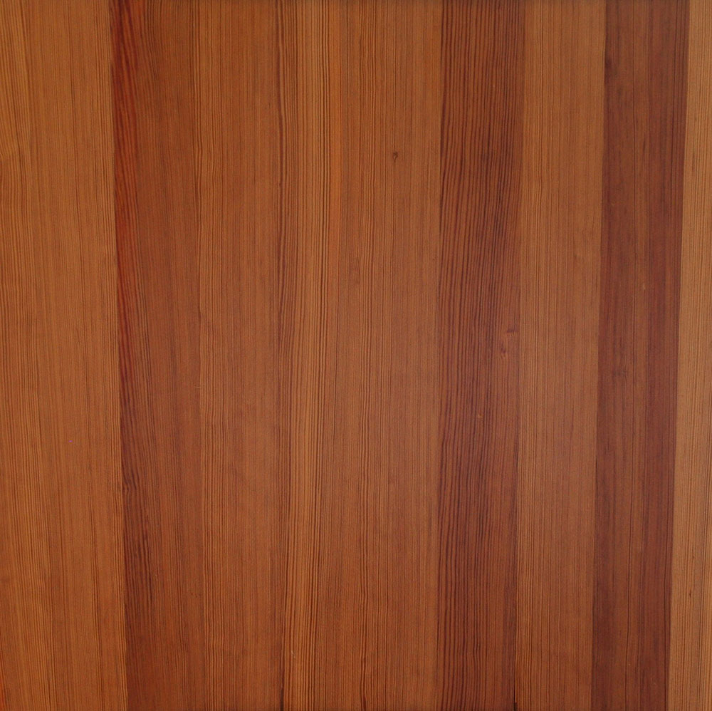 Vertical Grain Heart Pine - Straight grain and consistent color make this a choice for higher-end applications.